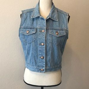 Bill Blass Vintage Denim Vest